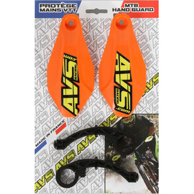 AVS Racing Handschutz Set orange